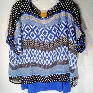 Ruby Rd Women's Blouse Size Large